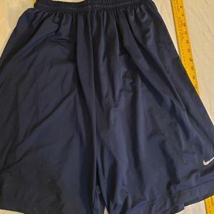 Nike sz. Medium navy blue athletic shorts